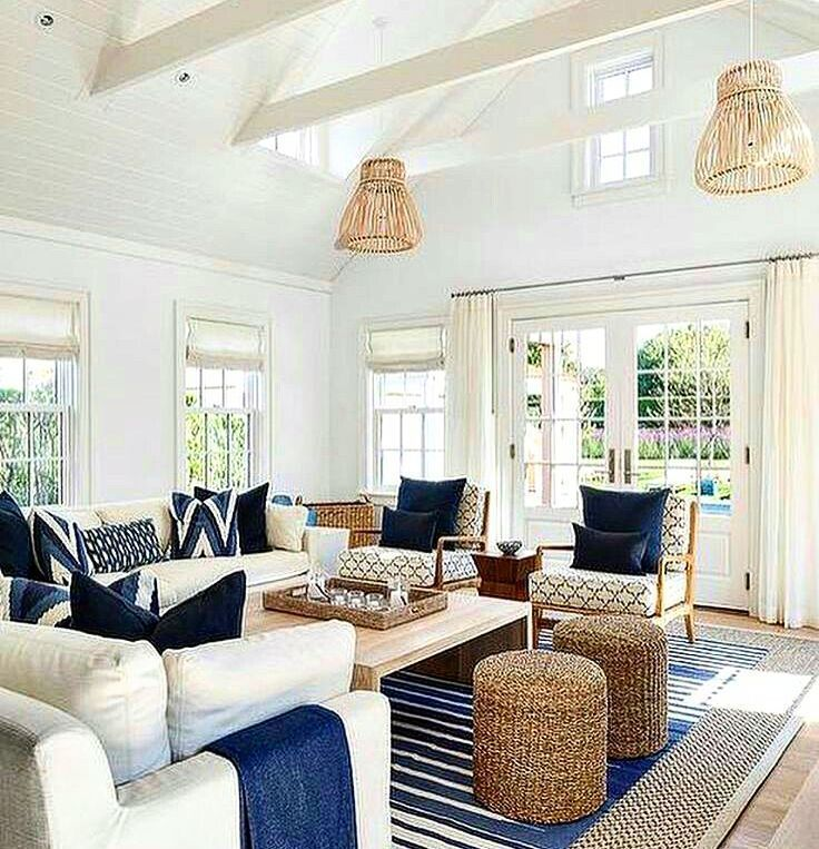 3313 Best Coastal Casual Living Rooms Images On Pinterest Pleasing Coastal Design Living Room Review