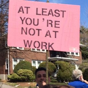 Too true. | The 42 Best Signs From The Boston Marathon