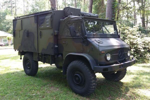 Unimog Zombie Vehicle