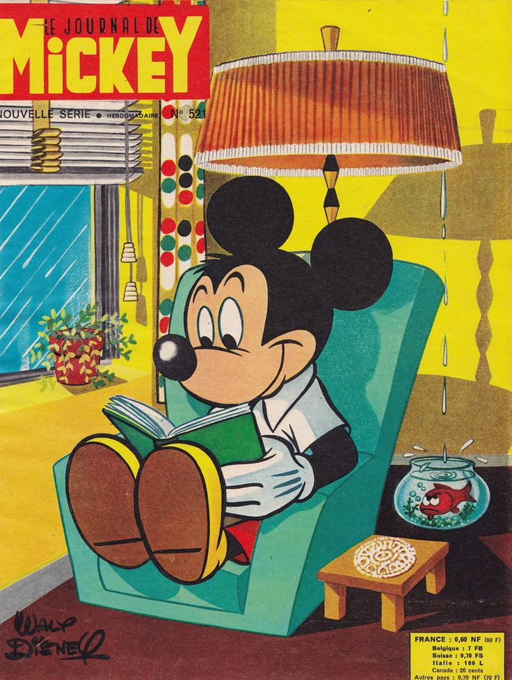 Le Journal de Mickey 521 by micky the pixel