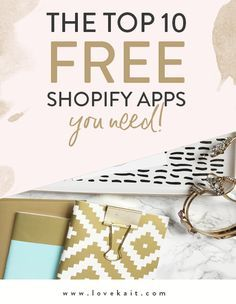 It's no secret that I am totally, 100% smitten with Shopify. I share with  everyone who's interested how on-point their customer service is and how  easy their platform is for a user to learn. However, one thing I think I'm  never vocal enough about is how incredible and extensive their list of FREE  apps is.  The coolest thing to me is that for those who aren't familiar with SEO, ALT  tags, and more, there's an app to assist you with the process should it be  a little too overwhelming for…