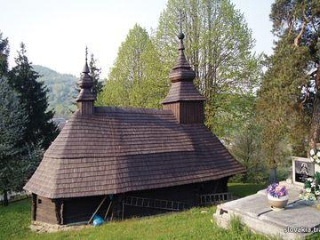 Inovce - Kostol sv. Michala Archanjela - Drevené kostoly - Slovakia.travel