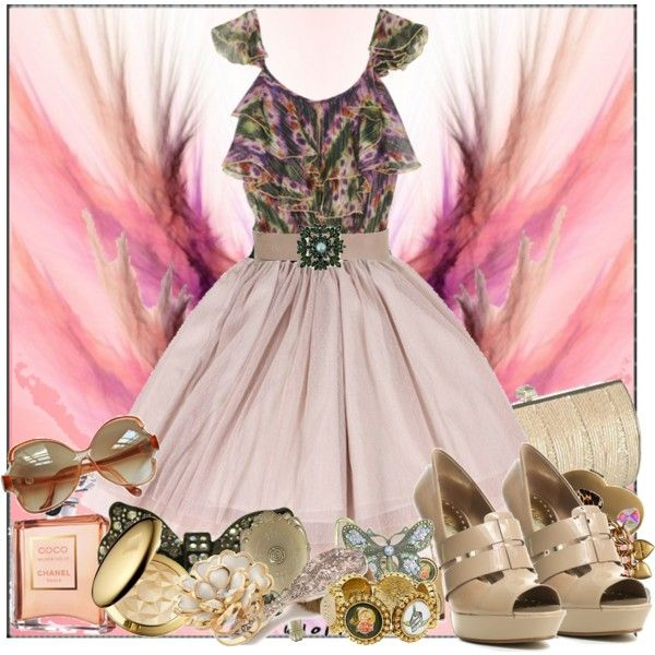 """Girly"" by sonia32 on Polyvore #girlyfashion #fashion"