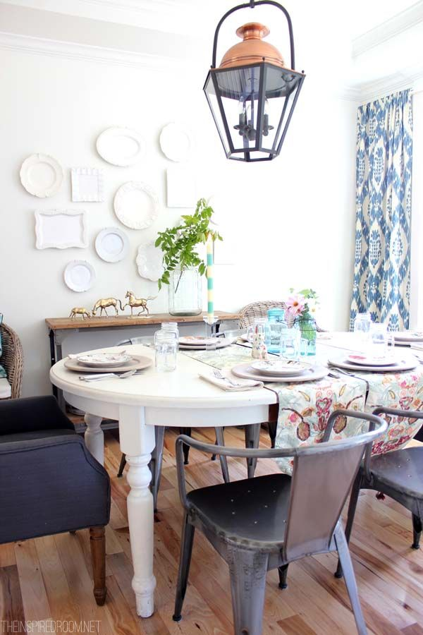 Best Decorating With Plates Images On Pinterest Plate Display