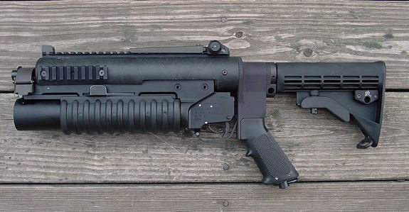Knight m203 standalone - 40mm grenade launcher. | Killer ...