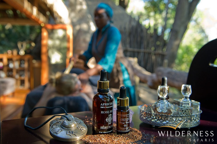 Jao Camp also has a spa where a wide range of massage therapies are offered. For more information please visit www.jaospa.com. #Safari #Africa #Botswana #WildernessSafaris
