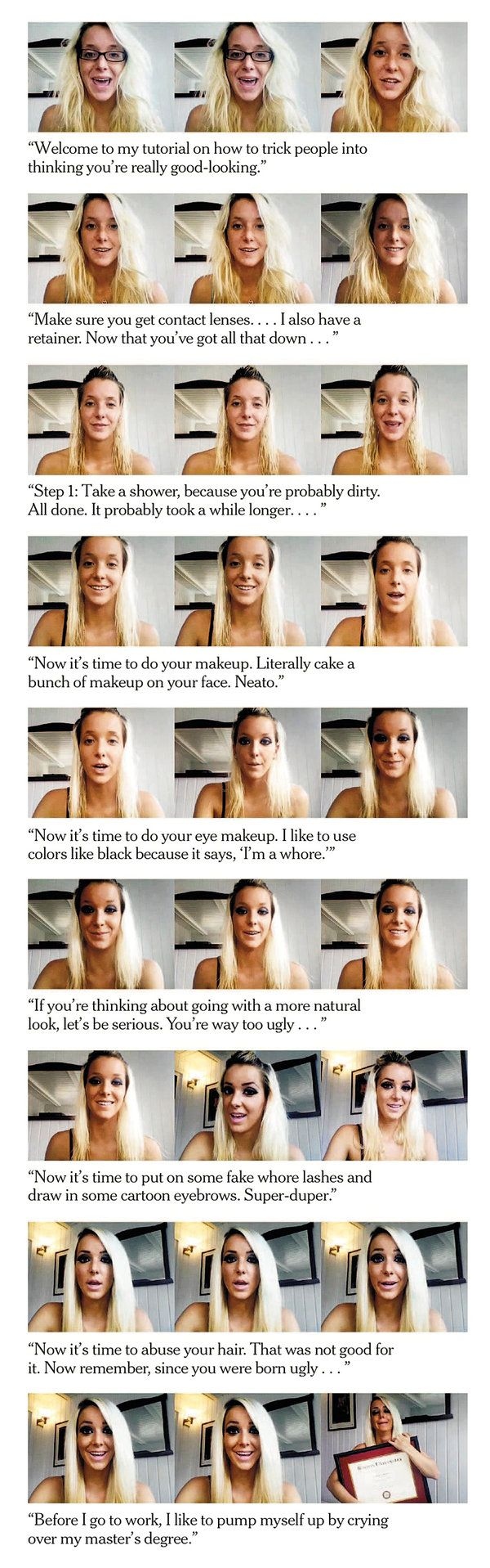 Jenna Marbles, The Woman With 1 Billion Clicks  Nytimes