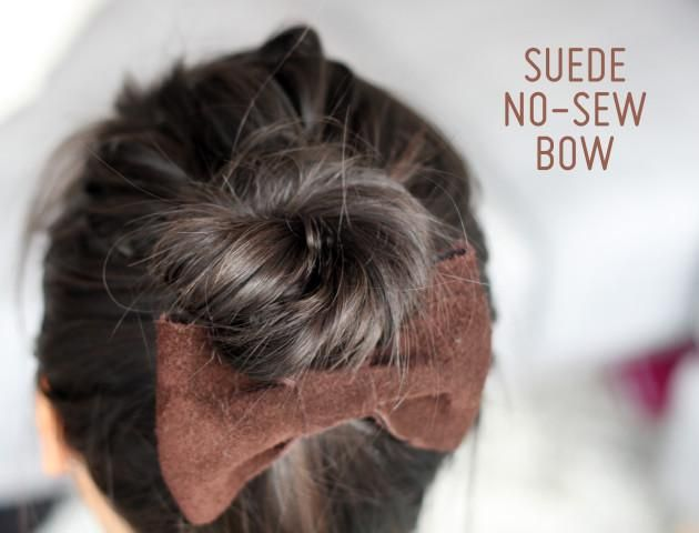 Peachy 1000 Ideas About No Sew Bow On Pinterest Diy Hair Bows No Sew Short Hairstyles Gunalazisus