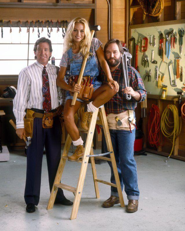 Pamela Anderson, Tim Allen And Richard Karn In Home