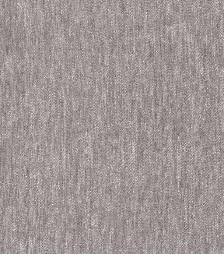 Signature Series Upholstery Velvet Fabric Light Gray