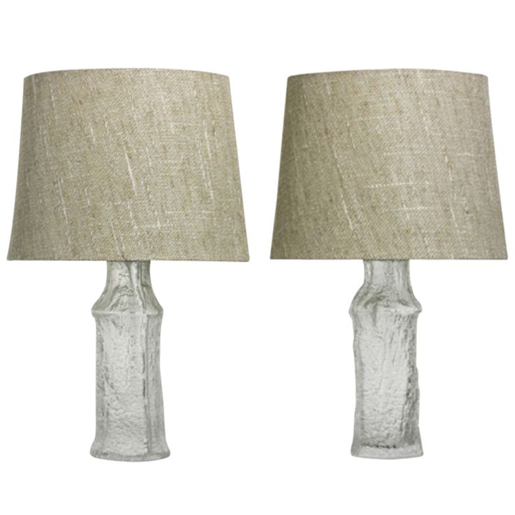 Two Beautiful Table Lamps by Timo Sarpaneva for Iittala & LUXUS | From a unique collection of antique and modern table lamps at http://www.1stdibs.com/furniture/lighting/table-lamps/