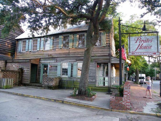 Maison de The Pirate, Savannah en Géorgie! | Maisons hantées