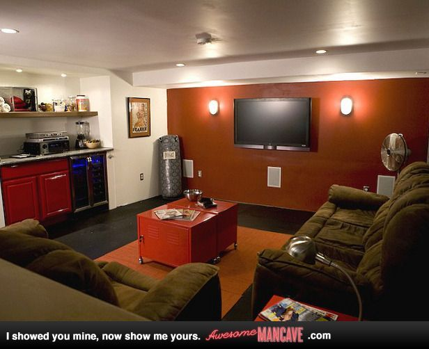 Mini Man Cave Hobby Lobby : Man cave i would not be opposed to this watching football in