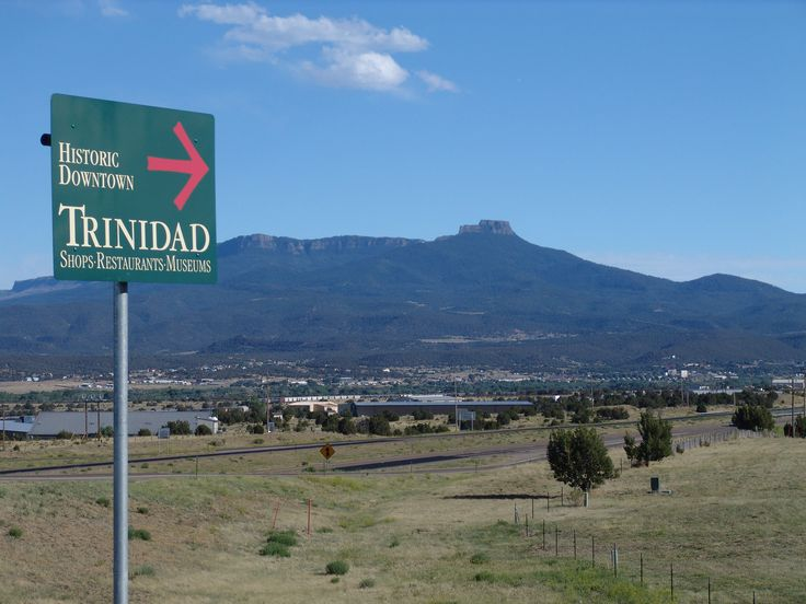 This way to the Historic Downtown of Trinidad Colorado. Visit www.adobegold.com for mountain properties for sale near Trinidad Colorado