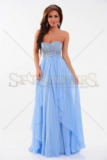 Rochie Sherri Hill 3874 Blue
