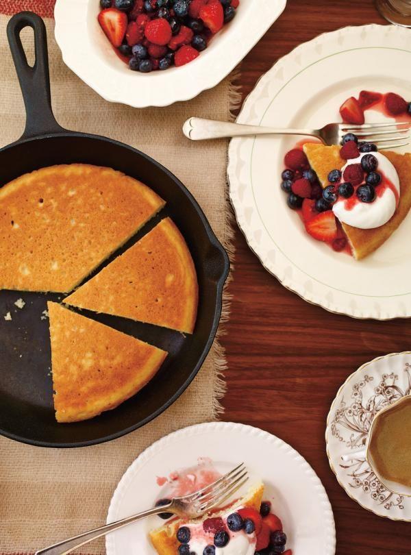 Recette de Ricardo de méga-pancake à partager