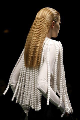 Givenchy....Hair style