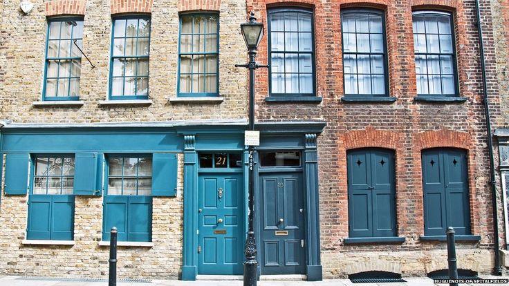 Fournier Street in Spitalfields
