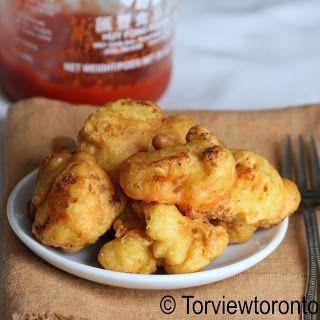 Torviewtoronto: Cauliflower fritters pakoras