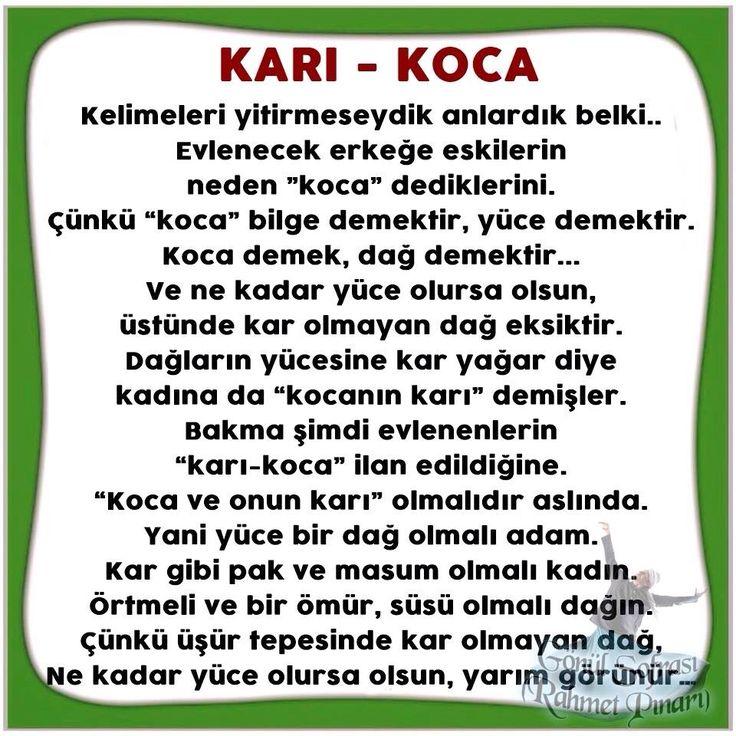 KARI KOCA