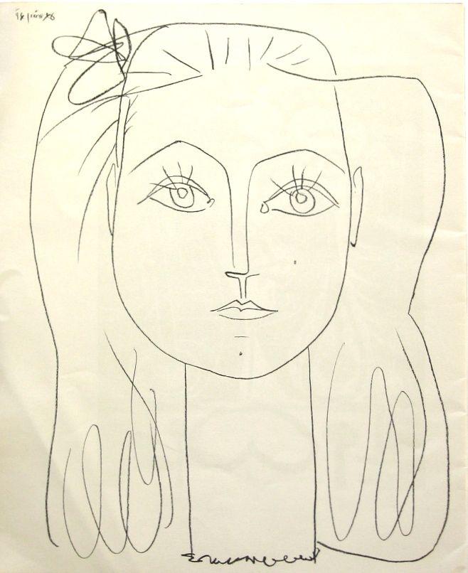 pablo picasso sketches - photo #10