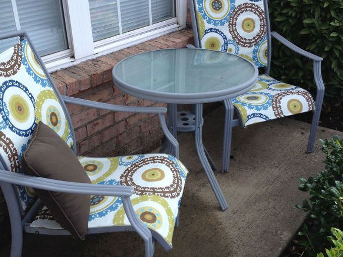 Replacing Repairing Dryrotted Fabric On Outdoor Furniture