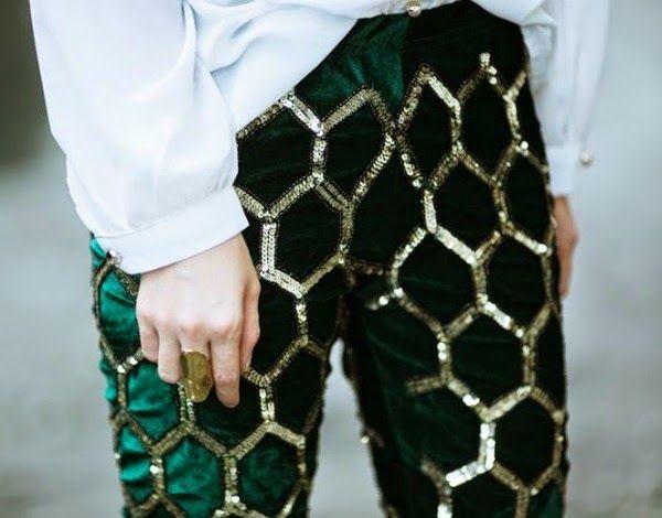these amazing sequin pants
