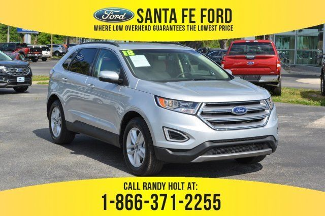 2018 Ford Edge Sel Awd Suv For Sale Gainesville Fl 39401p Ford