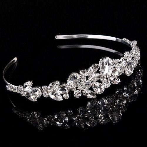 Shop Crystal Bridal Headband Tiara Wholesale Cheap Handmade Wedding Headpieces