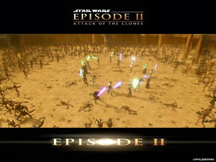 Fondo de Pantalla de Star Wars: Episodio II - Jedis