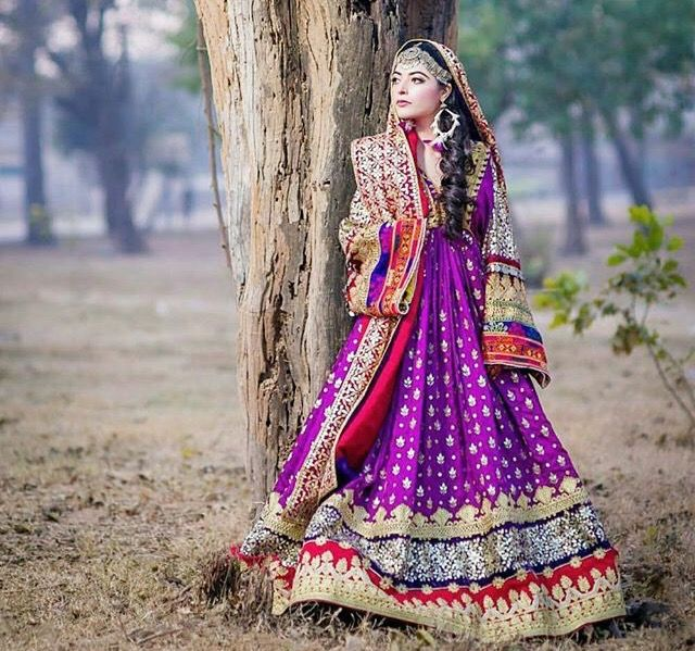 Afghan style dress afghani wedding afghanistan for Styles de robe de mariage 1970