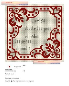 Nice corner motif cross-stitch - free