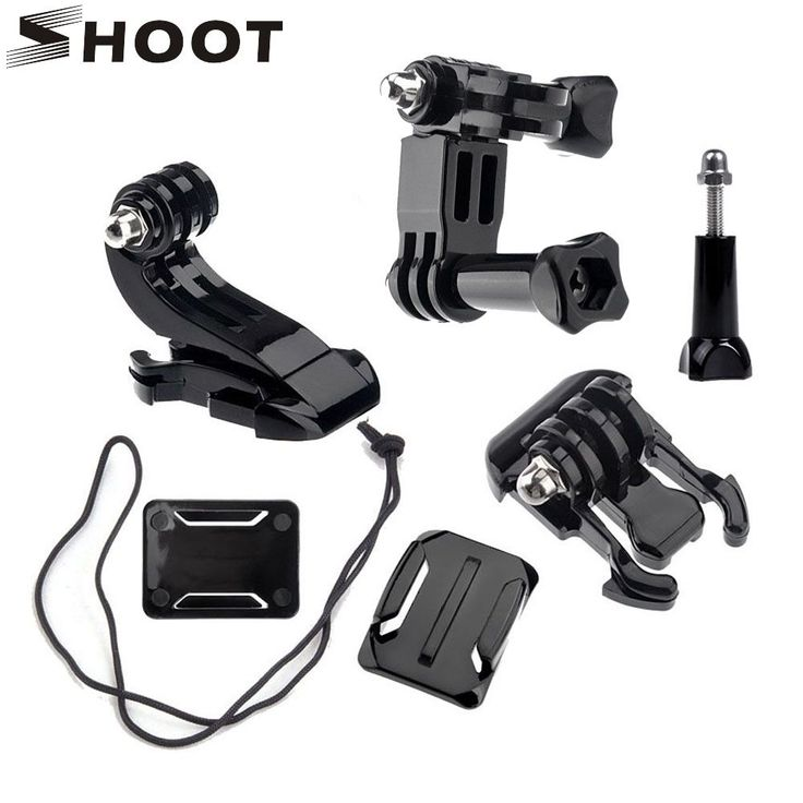 >> Click to Buy << SHOOT Action Camera Accessories Set J-shaped buckle Activities base For GoPro Hero 5 3 4 Xiaomi Yi 4K SJCAM Go Pro Helmet Kits #Affiliate