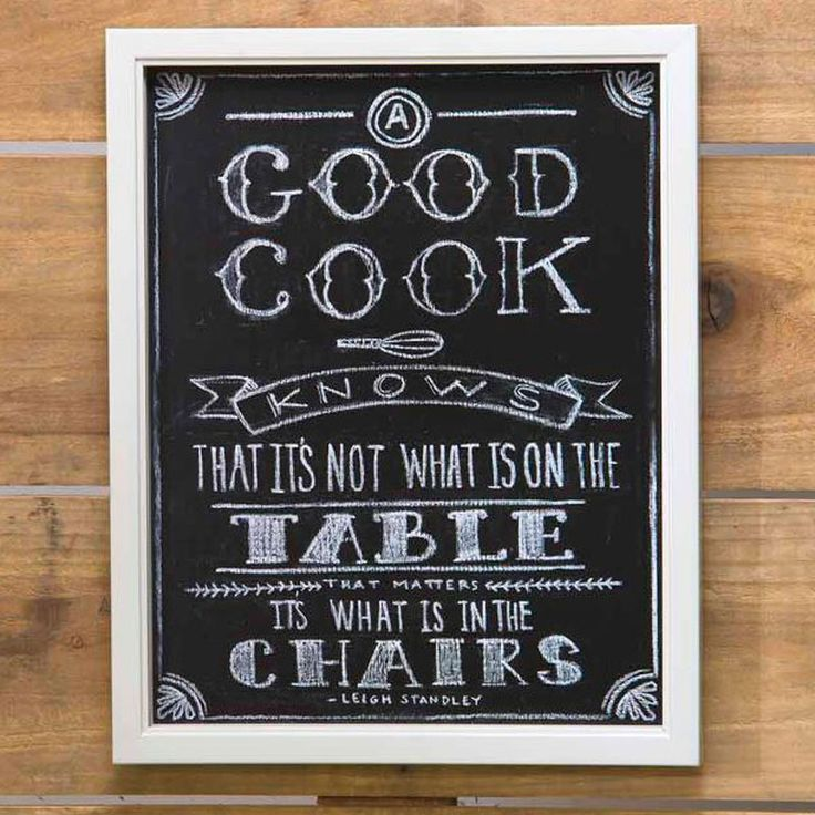 Kitchen Chalkboard Quotes: 53 Best Images About CHALKBOARDS