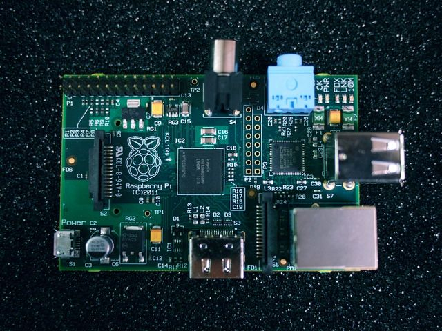 Raspberry Pi -  This mini computer has a Broadcom BCM2835 SoC: ARM1176JZF-S 700 MHz processor, VideoCore IV GPU and 256 megabytes of RAM. Has an SD card port for booting and storage.