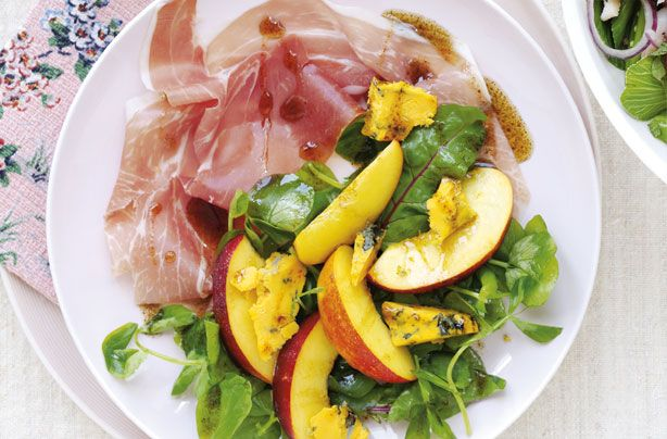 Nectarines have such a short season, so make them most of them when they are around with this stunning nectarine and prosciutto platter. This dish pairs just a handful of simple ingredients together to let the fresh flavours shine through - perfect as a light meal for the family or an impressive starter for a summer dinner party.