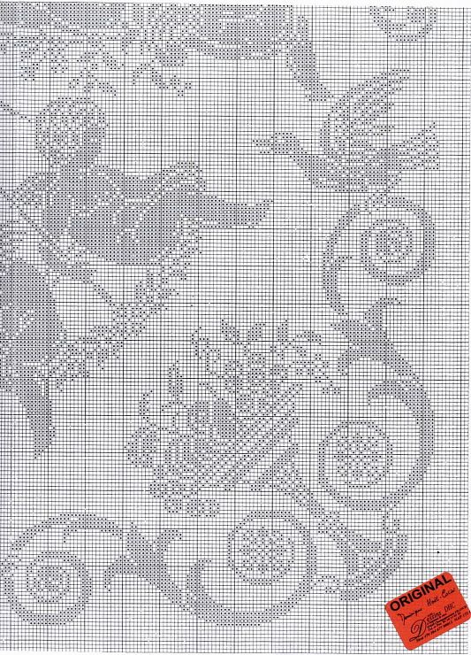 Patrón ángeles | Crochet Angeles | Pinterest | Cross stitch angels ...