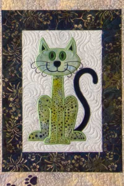 Lunch Box Quilts:Shop | Category: NEW! | Product: Cat's Meow with USB