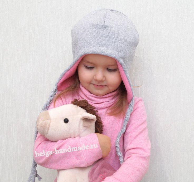 Шапочка. Пошагово. Автор выкройки указан на фото. #шьем_сами #шапки #для_детей #выкройки_для_шитья #будем_делать