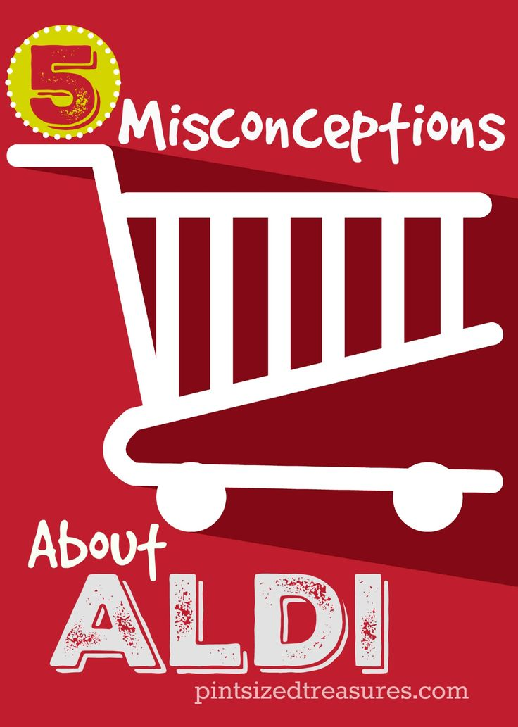 Common misconceptions about Aldi grocery store chain. Have you heard or believe these? @alicanwrite