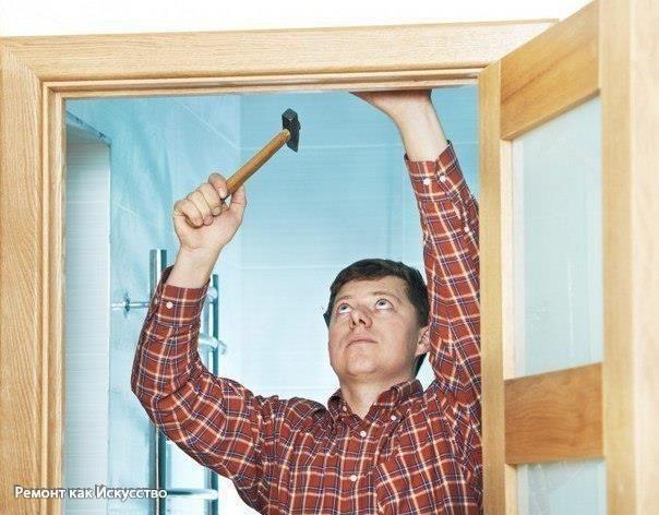 Инструкция по самостоятельной установке межкомнатной двери Так ли страшна установка межкомнатных дверей своими руками, как ее представляют? По факту же это не самая сложная ремонтная операция. Она, безусловно, требует высокой степени концентрации на процессе, но освоить ее способен даже новичок при выполнении рекомендуемой последовательности действий. Благополучный итоговый результат будет достигнут, если на каждом шаге работы быть внимательным. Весь процесс установки двери между комнатами…