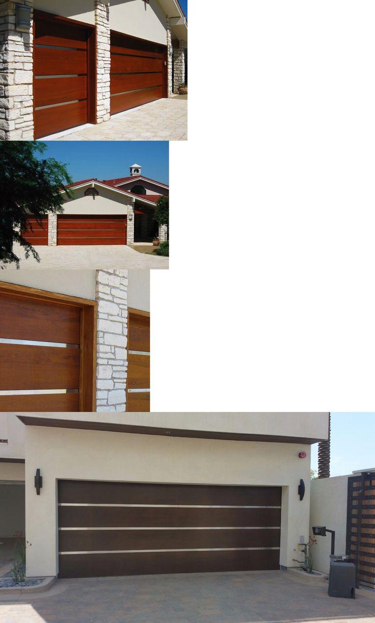 Classica northampton garage door white 9 x 8 no windows - Garage Doors 115699 Genesis Design Modern Style Custom Solid Cedar Wood Garage Door