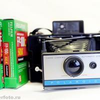 Polaroid Land АКЦИЯ! | Wonderfoto — фотоаппараты Polaroid,кассеты для Полароид в Москве. Единственный магазин моментальной фотографии в Росс... 6300 p.