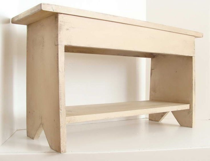 Small Entryway Bench With Footrest                                                                                                                                                                                 More
