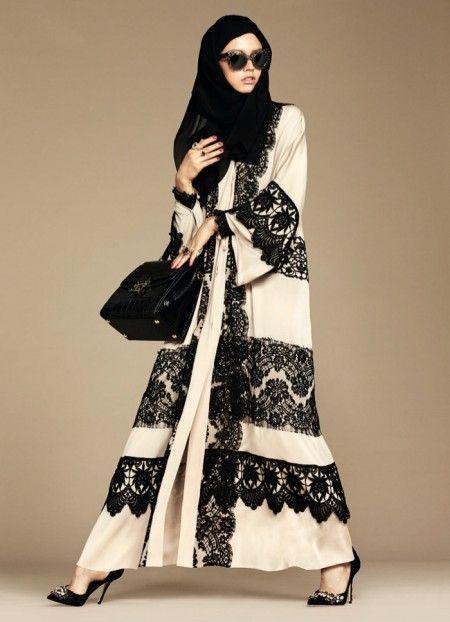 Dolce & Gabbana Creates First Hijab & Abaya Collection
