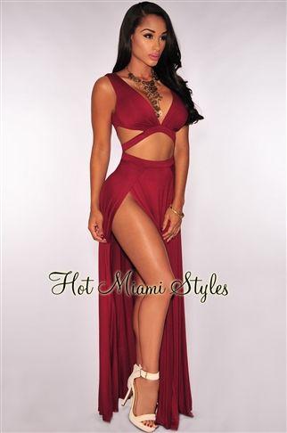 Miami style maxi dresses