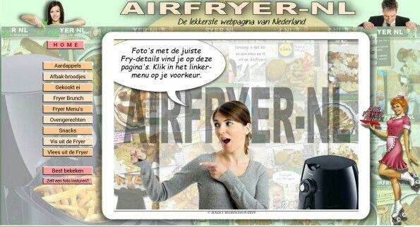 Nederlandse recepten voor de Airfryer! Helaas geen pinda's afbeelding op de site maar ga naar http://www.henkzwiers.nl/Airfryer_index.htm