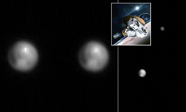 Mysterious bright spot seen on Pluto by New Horizon's space probe