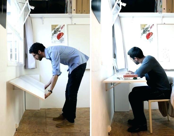Foldable Wall Desk Folding Desk Wonderful Build Wall Mounted Desk