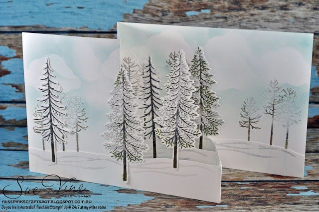 Sue Vine | MissPinksCraftSpot | Stampin' Up!® Australia Order Online 24/7 | Thoughtful Branches| #stampinup  #thoughtfulbranches…